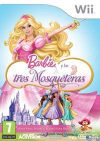 Portada oficial de Barbie and the Three Musketeers para Wii