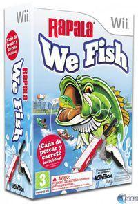 Portada oficial de Rapala: We Fish para Wii