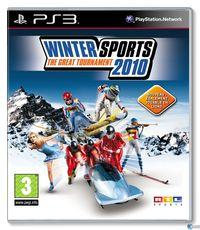 Portada oficial de Winter Sports 2010 para PS3