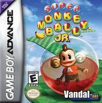 Portada oficial de Super Monkey Ball Jr. para Game Boy Advance