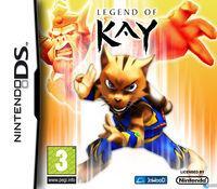 Portada oficial de Legend of Kay para NDS