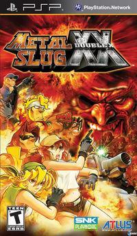 Portada oficial de Metal Slug XX para PSP