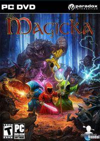 Portada oficial de Magicka para PC