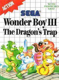 Portada oficial de Wonder Boy III: The Dragon's Trap CV para Wii