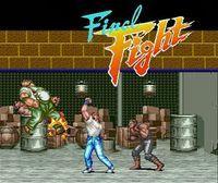Portada oficial de Final Fight 2 CV para Wii