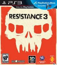 Portada oficial de Resistance 3 para PS3