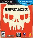 Portada oficial de de Resistance 3 para PS3