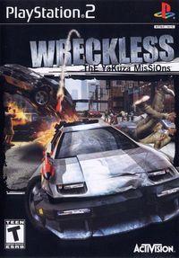 Portada oficial de Wreckless: The Yakuza Missions para PS2