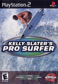 Portada oficial de Kelly Slater's Pro Surfer para PS2
