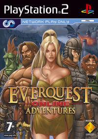 Portada oficial de EverQuest: Online Adventures para PS2