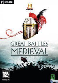 Portada oficial de HISTORY Great Battles Medieval para PC