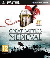 Portada oficial de HISTORY Great Battles Medieval para PS3