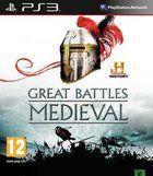 Portada oficial de de HISTORY Great Battles Medieval para PS3