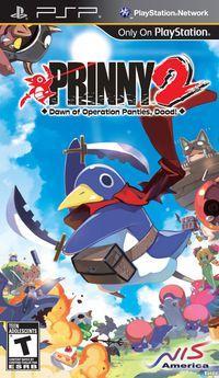 Portada oficial de Prinny 2: Dawn of Operation Panties, Dood! para PSP