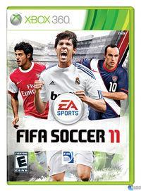 Portada oficial de FIFA 11 para Xbox 360