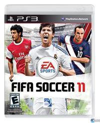 Portada oficial de FIFA 11 para PS3
