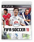 Portada oficial de de FIFA 11 para PS3