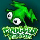 Portada oficial de de Frogger Returns PSN para PS3