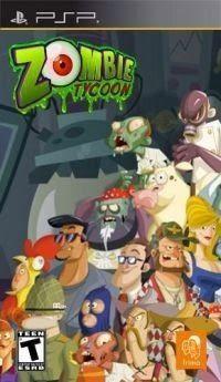 Portada oficial de Zombie Tycoon Mini para PSP