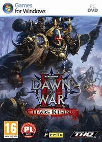 Portada oficial de Warhammer 40.000: Dawn of War II Chaos Rising para PC