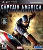 Portada oficial de de Capitán América: Supersoldado para PS3