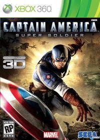Portada oficial de Capitán América: Supersoldado para Xbox 360