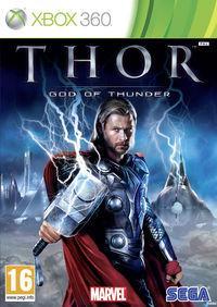 Portada oficial de Thor: Dios del Trueno para Xbox 360