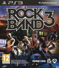 Portada oficial de Rock Band 3 para PS3