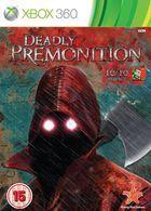 Portada oficial de de Deadly Premonition para Xbox 360