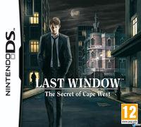 Portada oficial de Last Window: El secreto de Cape West para NDS