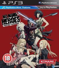Portada oficial de No More Heroes: Heroes' Paradise para PS3