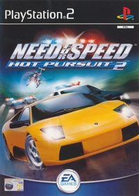 Portada oficial de Need for Speed: Hot Pursuit 2 para PS2