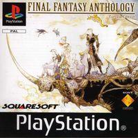 Portada oficial de Final Fantasy Anthology para PS One