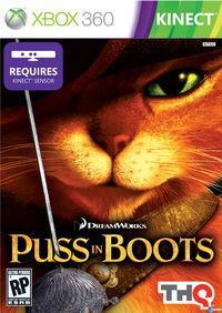 Portada oficial de El Gato con Botas para Xbox 360