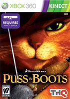 Portada oficial de de El Gato con Botas para Xbox 360