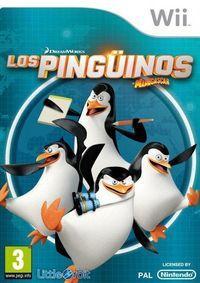 Portada oficial de Los Pingüinos de Madagascar para Wii