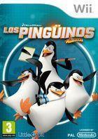 Portada oficial de de Los Pingüinos de Madagascar para Wii
