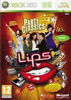 Portada oficial de de Lips Party Classics para Xbox 360