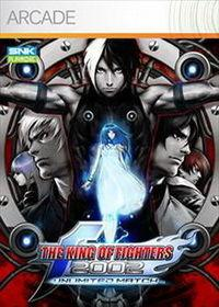 Portada oficial de The King of Fighters 2002 Unlimited Match XBLA para Xbox 360