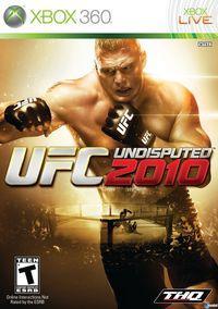 Portada oficial de UFC 2010 Undisputed para Xbox 360