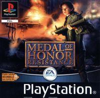 Portada oficial de Medal of Honor Underground para PS One