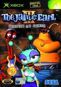 Portada oficial de ToeJam & Earl III: Mission to Earth para Xbox