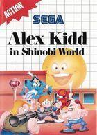 Portada oficial de de Alex Kidd in Shinobi World CV para Wii