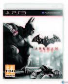 Portada oficial de de Batman: Arkham City para PS3