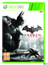 Portada oficial de Batman: Arkham City para Xbox 360
