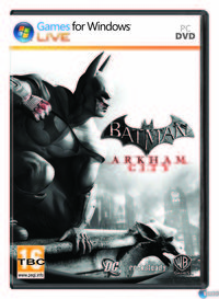 Portada oficial de Batman: Arkham City para PC