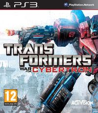 Portada oficial de Transformers: War for Cybertron para PS3