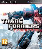 Portada oficial de de Transformers: War for Cybertron para PS3