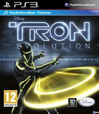 Portada oficial de Tron: Evolution para PS3