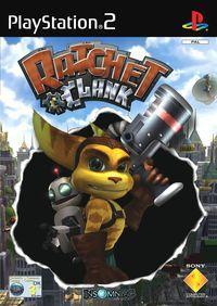 Portada oficial de Ratchet & Clank para PS2